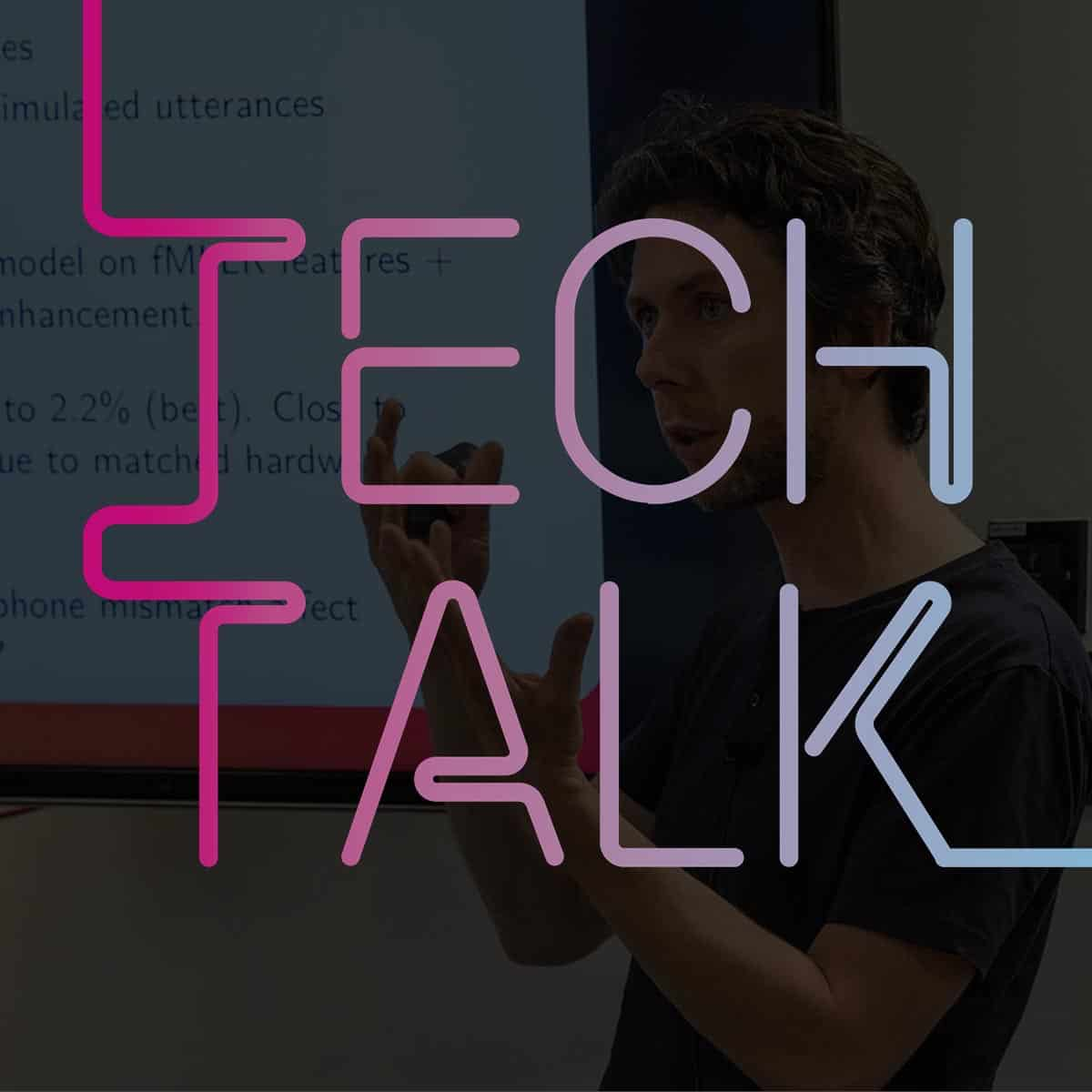Tech Talk: Deep learning for distant microphone speech enhancement and recognition