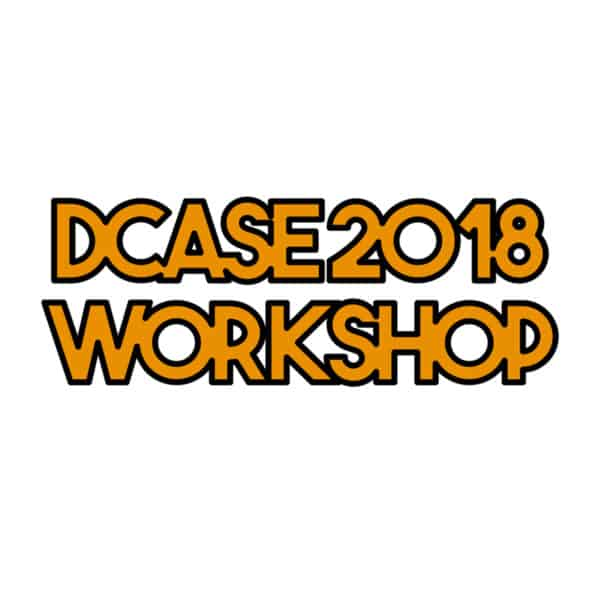 Audio Analytic sponsors DCASE 2018