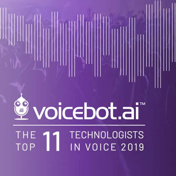 Audio Analytic listed in the Top 11 Technologists in Voice