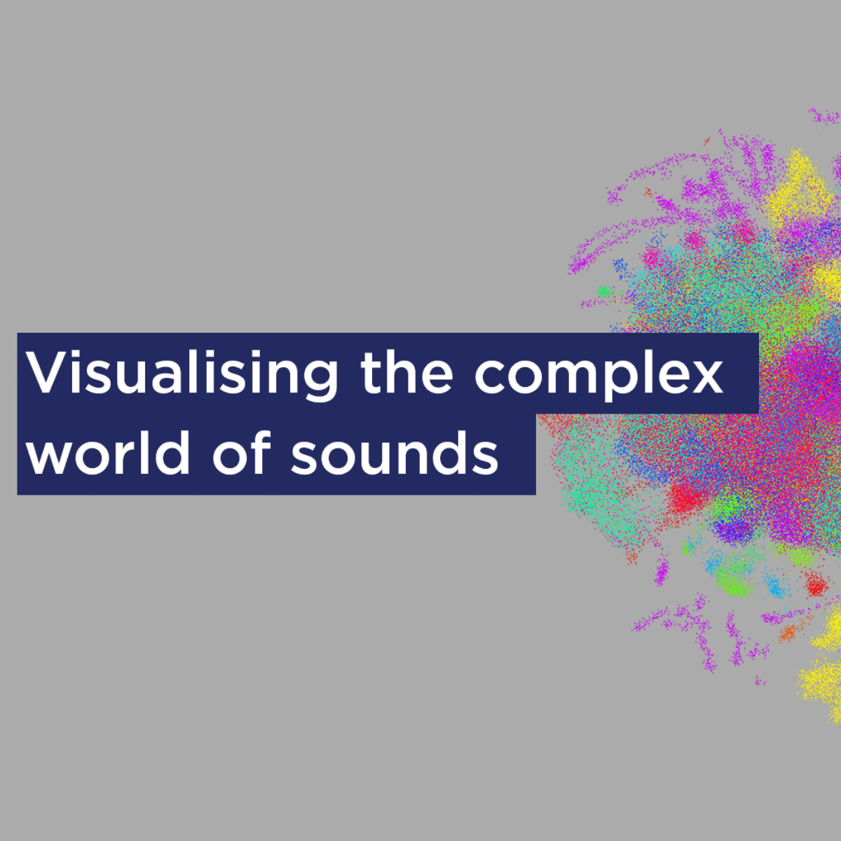 Visualising the complex world of sounds